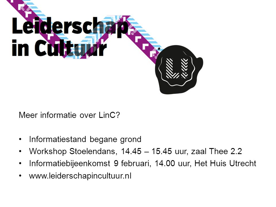 Meer informatie over LinC.