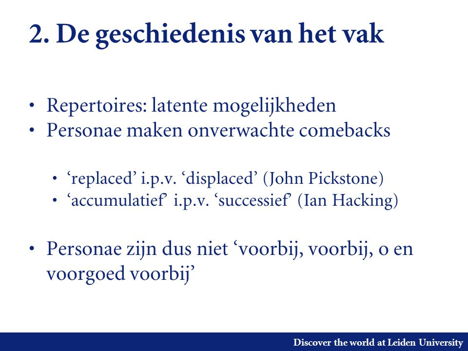Discover the world at Leiden University 3.