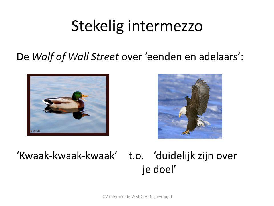 Stekelig intermezzo De Wolf of Wall Street over 'eenden en adelaars': 'Kwaak-kwaak-kwaak' t.o.