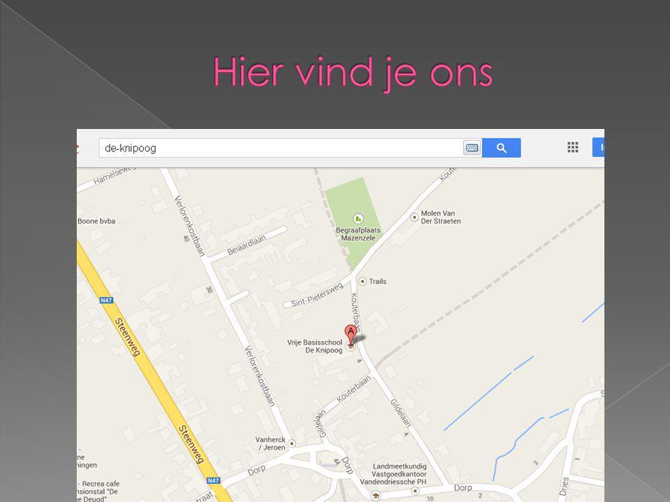 Naam: de knipoog Adres: kouterbaan 8 1745 Opwijk