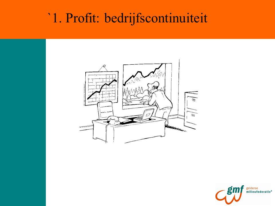 `1. Profit: bedrijfscontinuiteit