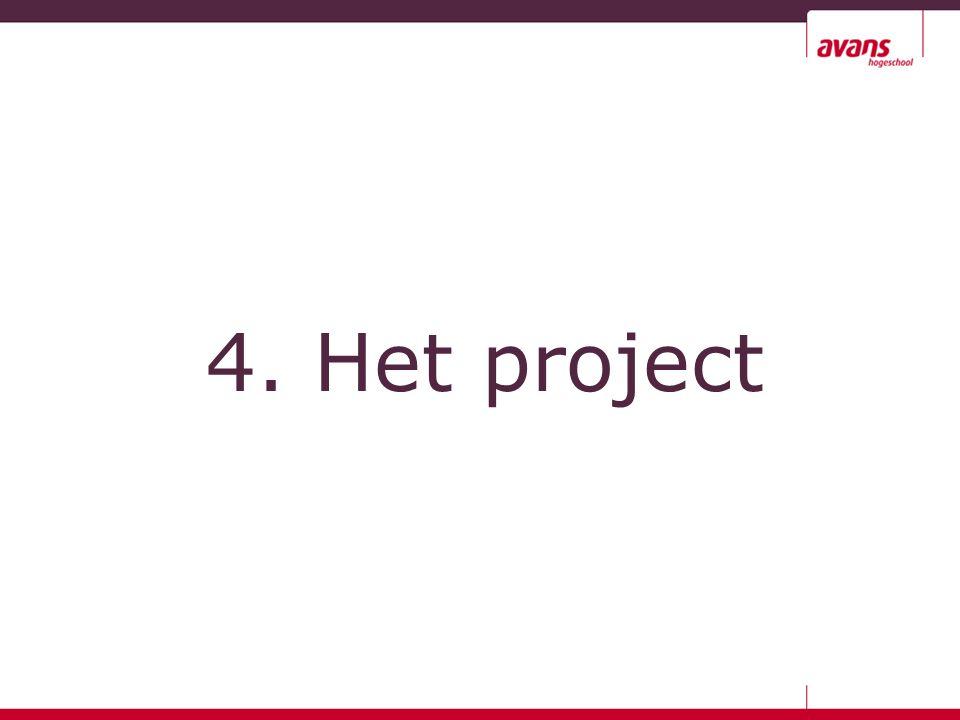 4. Het project