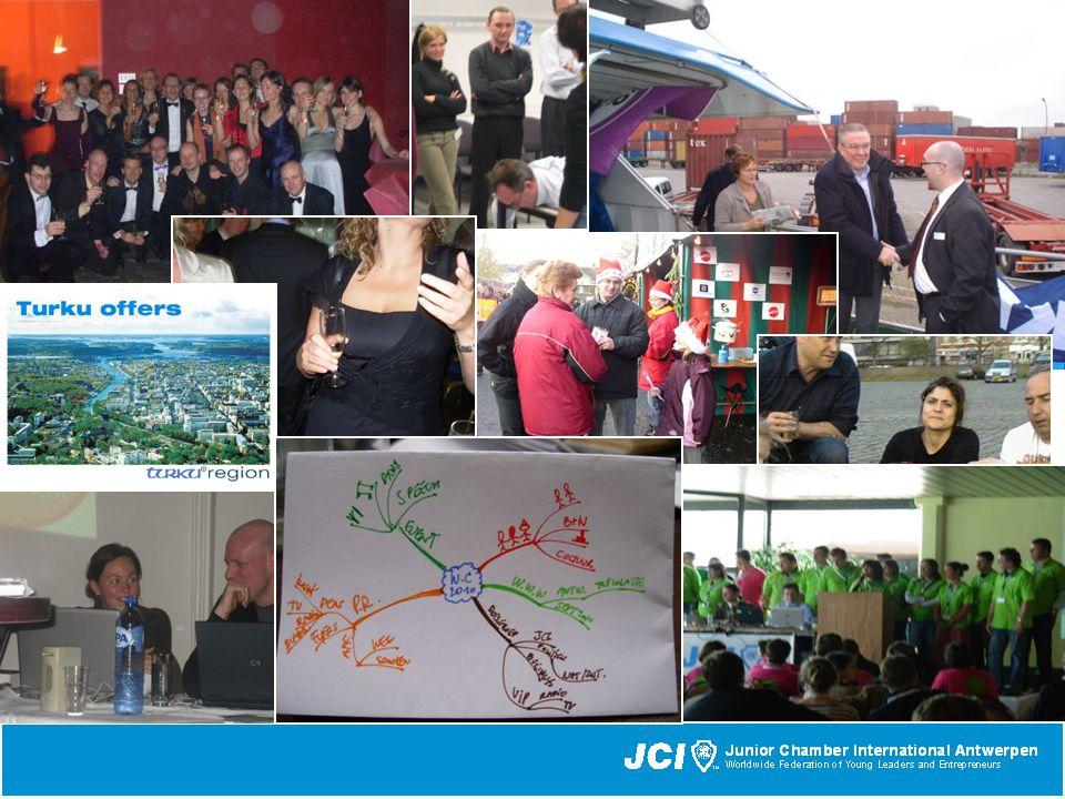 2.Groei³ aantal leden & JCI branding Promotie op universiteiten, beurzen, etc.