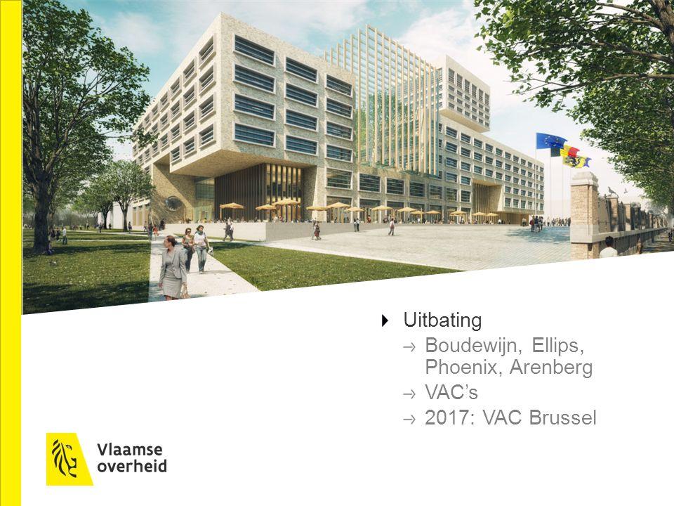 Uitbating Boudewijn, Ellips, Phoenix, Arenberg VAC's 2017: VAC Brussel