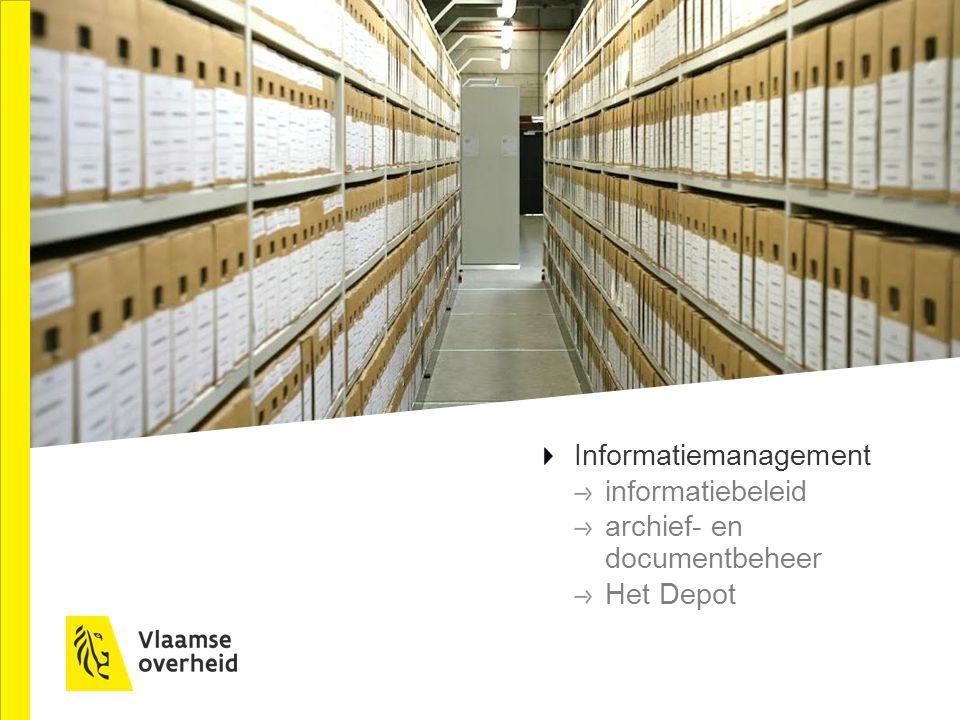 Informatiemanagement informatiebeleid archief- en documentbeheer Het Depot