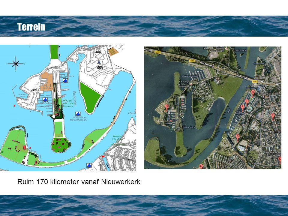 Terrein Ruim 170 kilometer vanaf Nieuwerkerk