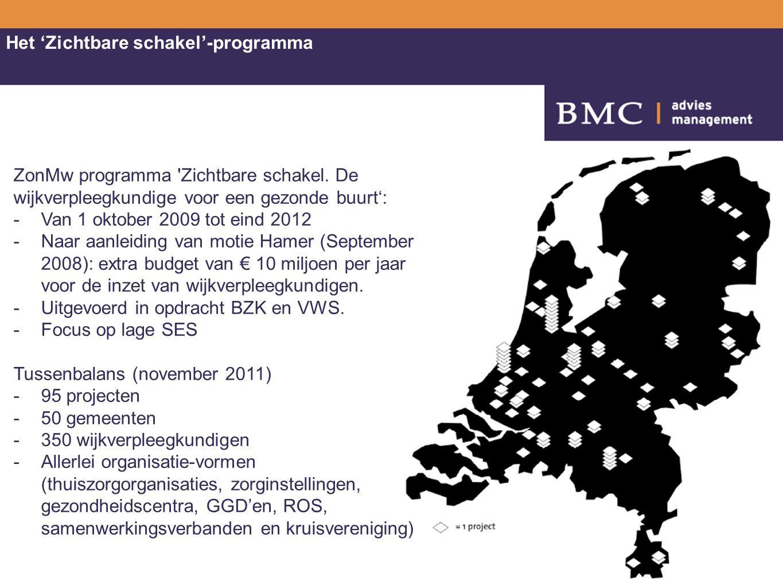 Berichtgeving deze maand Schippers: Wij moeten gewoon de financiering ontwikkelen, zodat de wijkverpleegkundige overal in heel Nederland weer terugkomt in de wijken. Middelen met betrekking tot de bestaande projecten zijn voor 2013, 2014 middels een decentralisatie- uitkering toegekend aan de betreffende gemeenten NZA adviseert om wijkverpleegkundige onder te brengen bij de verzekeraars.