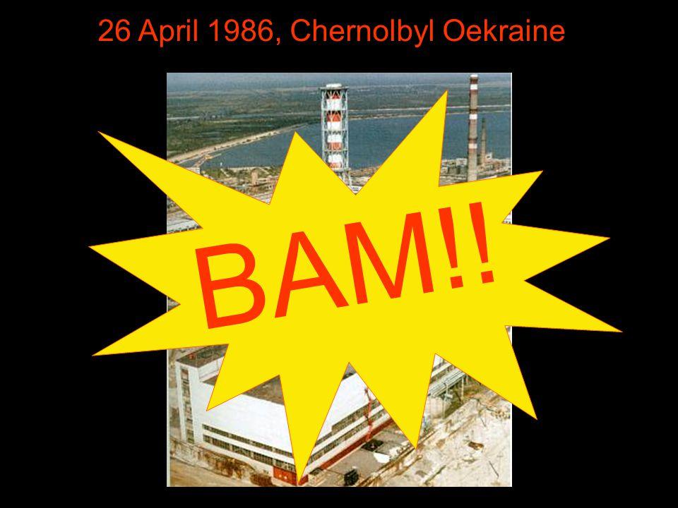 26 April 1986, Chernolbyl Oekraine BAM!!