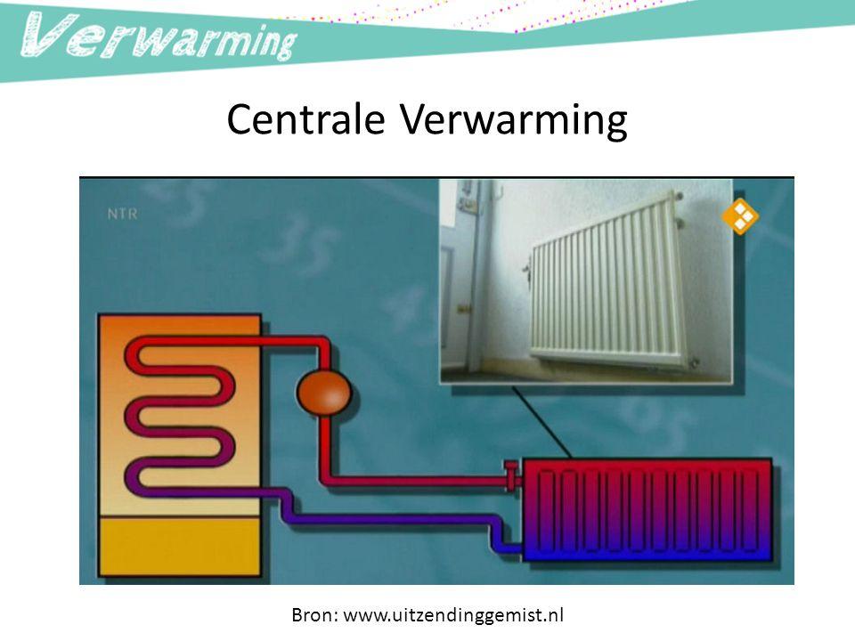 Centrale Verwarming Bron: www.uitzendinggemist.nl