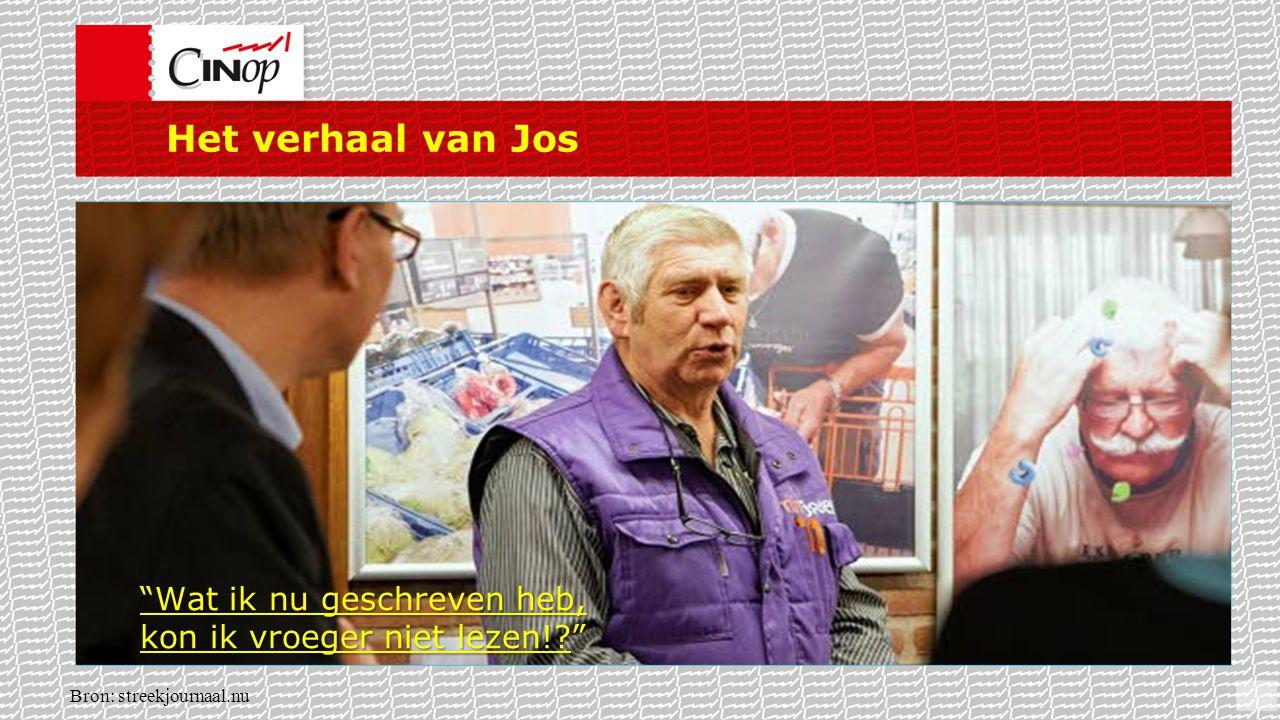 """Het verhaal van Jos Bron: streekjournaal.nu """"Wat ik nu geschreven heb, kon ik vroeger niet lezen!?"""""""