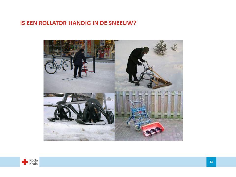 IS EEN ROLLATOR HANDIG IN DE SNEEUW? 14