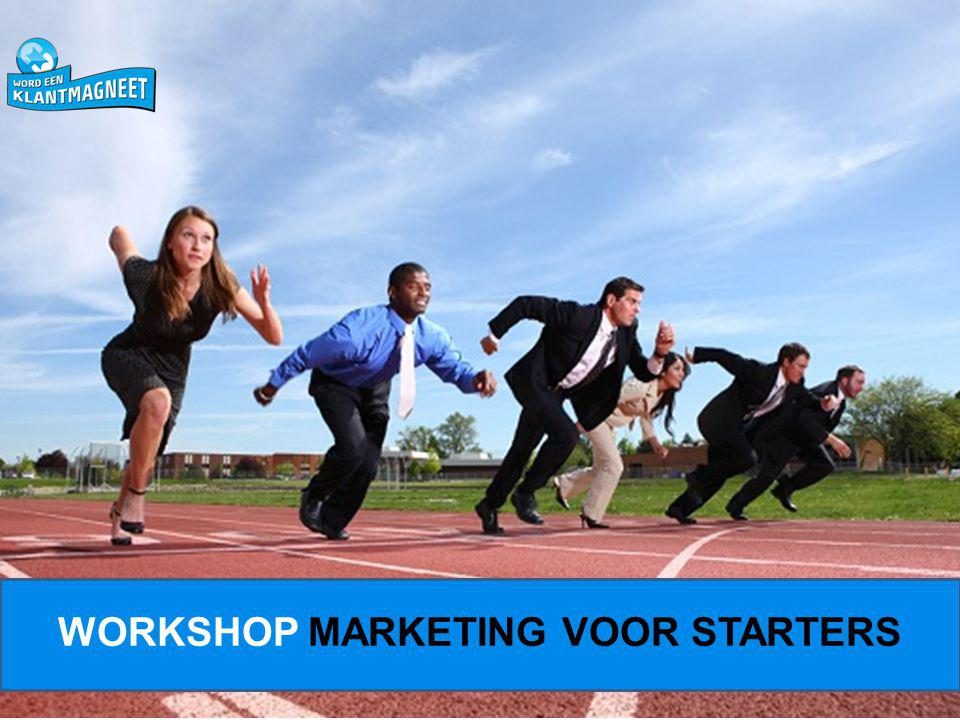 WORKSHOP MARKETING VOOR STARTERS