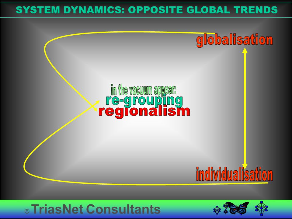 © TriasNet Consultants SYSTEM DYNAMICS: OPPOSITE GLOBAL TRENDS
