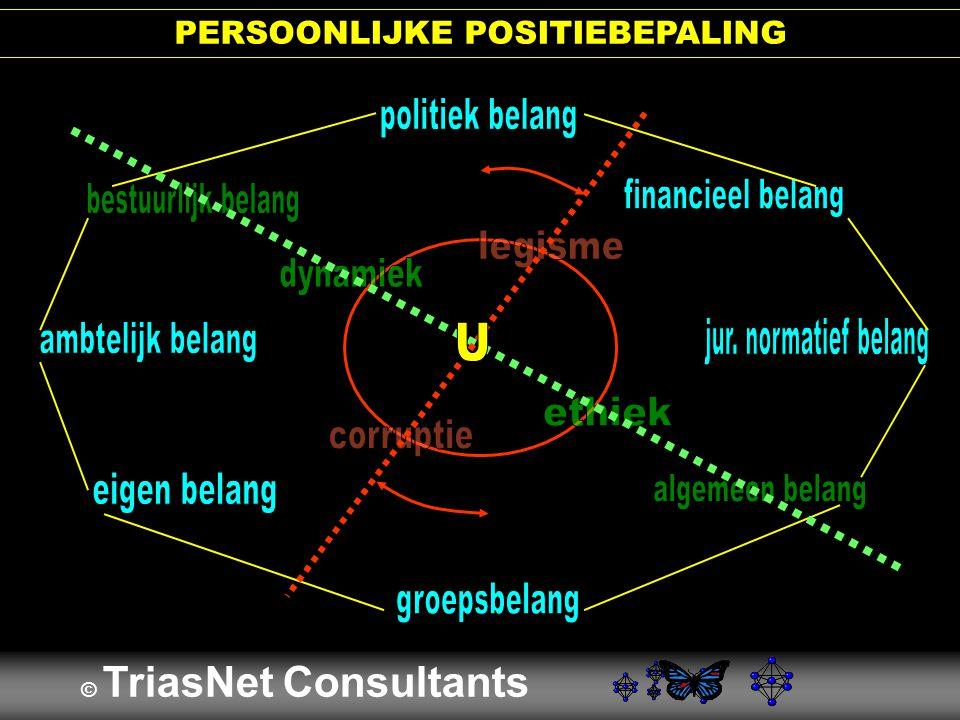 PERSOONLIJKE POSITIEBEPALING © TriasNet Consultants