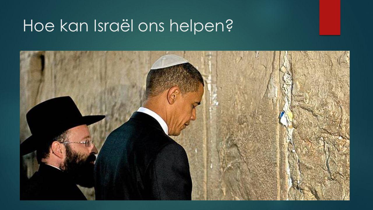 Hoe kan Israël ons helpen?