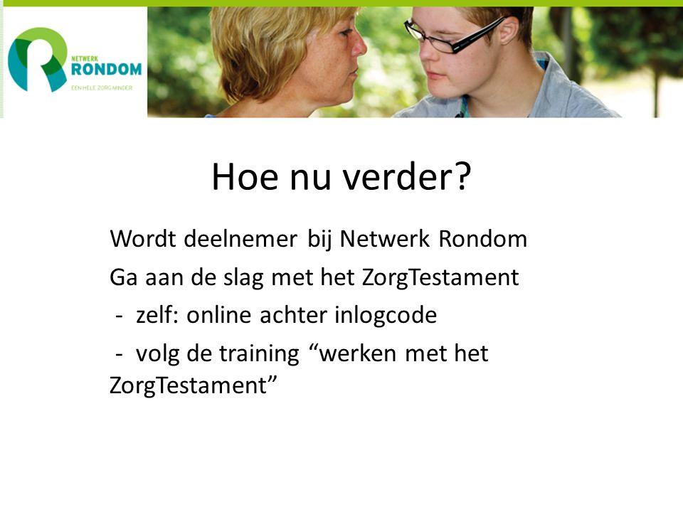 INFORMATIE www.netwerkrondom.nl info@netwerkrondom.nl 06 – 29259435 Gabie Conradi