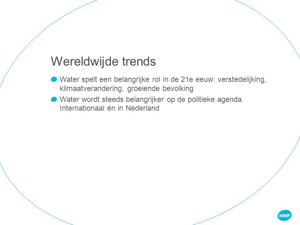 Sector met grote ambities: Watervoorziening in Nederland op orde houden (KRW, NBAW, Deltaprogramma, etc) Internationaal meer hulp & handel: Water is een Topsector Water is speerpunt binnen Ontwikkelingssamenwerking Water2020 MENSEN NODIG!!