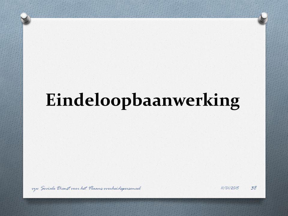Eindeloopbaanwerking 11/01/2015 vzw Sociale Dienst voor het Vlaams overheidspersoneel38