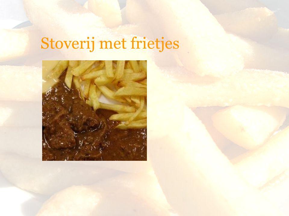 Stoverij met frietjes