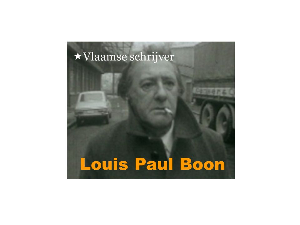  Vlaamse schrijver