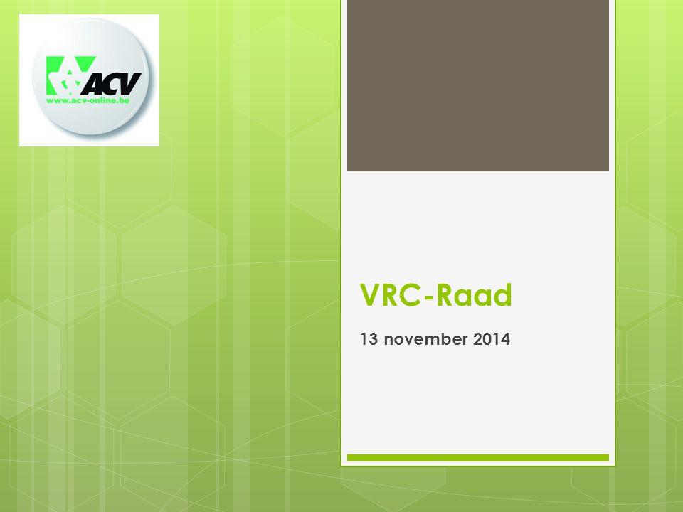 VRC-Raad 13 november 2014