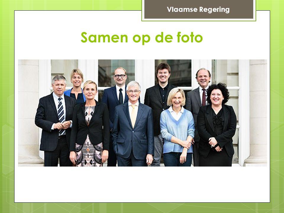 Samen op de foto Vlaamse Regering