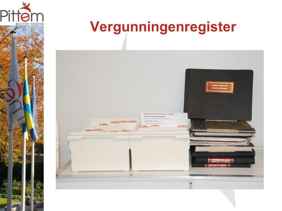 Vergunningenregister