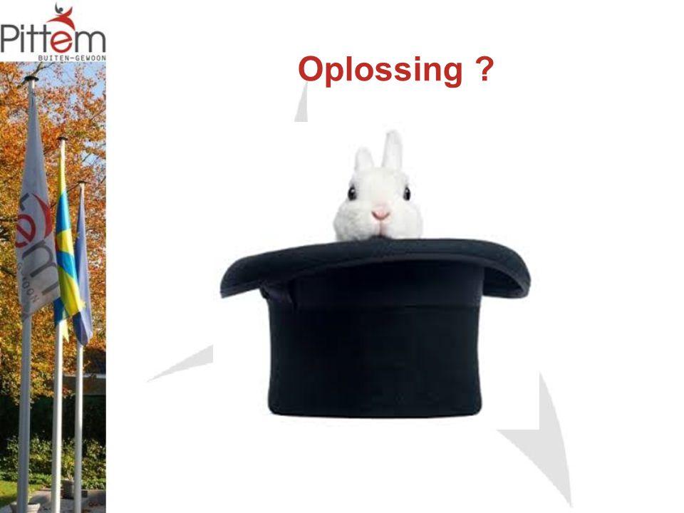 Oplossing ?