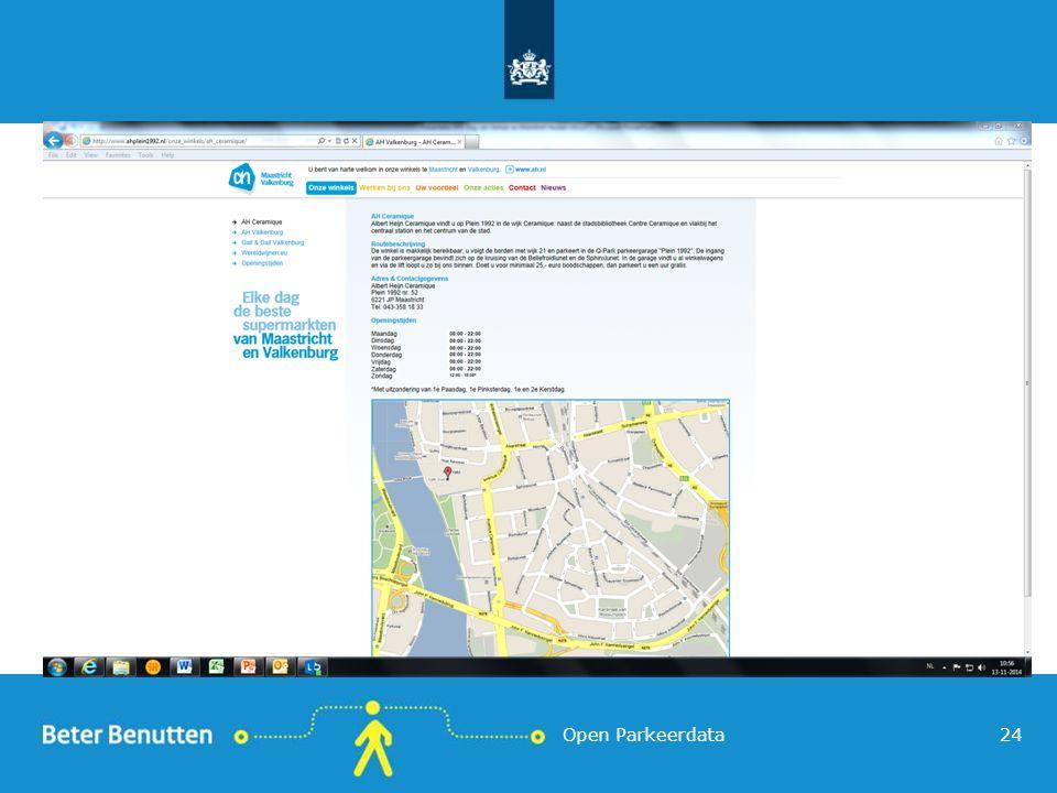 Open Parkeerdata24