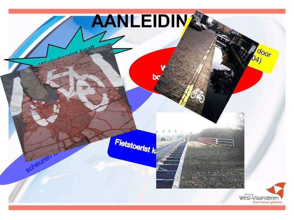Fietstoerisme in harmonie In samenwerking met Focus-WTV werden vijf thema-uitzendingen gemonteerd: -Gevaarsituaties en boetes -Rijden in groep -Zichtbaarheid -Voorrangregels -Hoffelijkheid op (de) weg www.west-vlaanderen.be/fietstoerisme