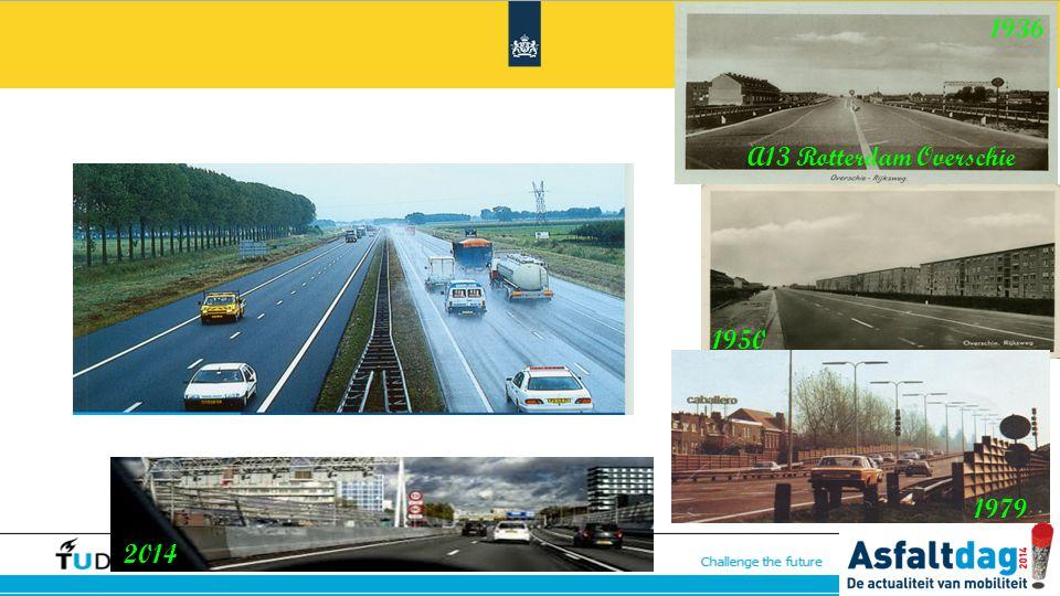 1936 A13 Rotterdam Overschie 1950 1979 2014