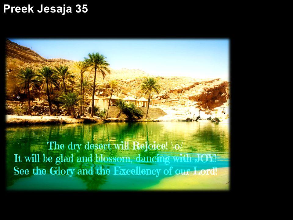 Preek Jesaja 35