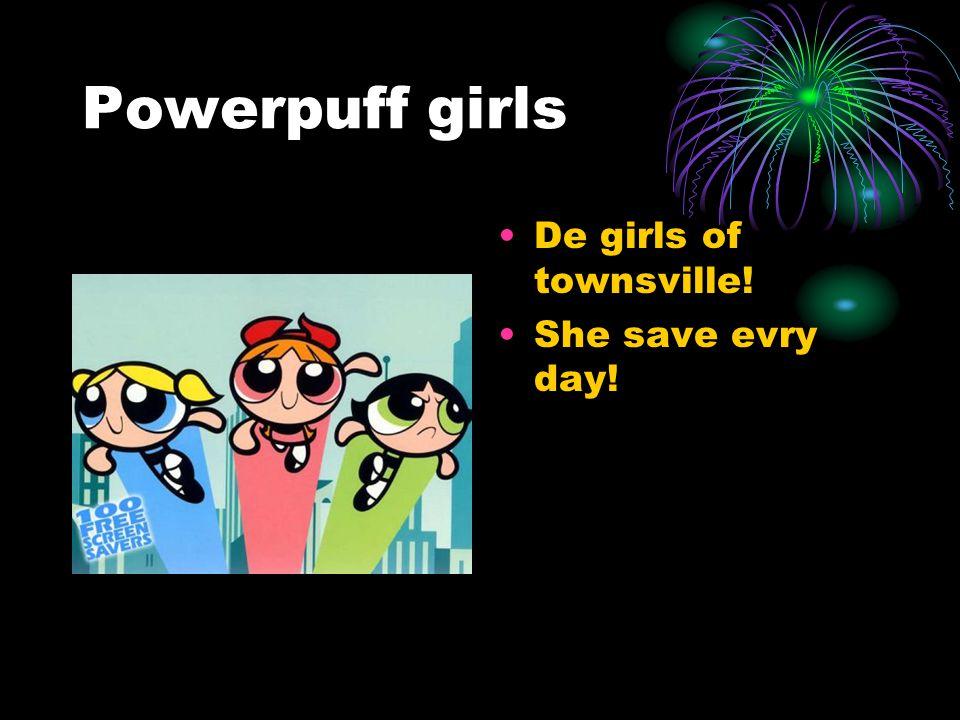 PPG Z Powerpuff girls Z is een Japanse creatie Blossom Bubbles en Buttercup In Z stijl