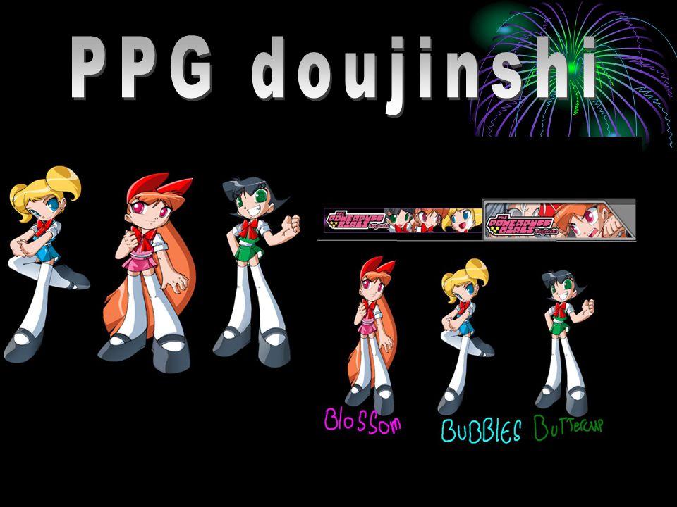 Doujinshi Powerpuff girls Doujinshi is ook Een Japanse cre- -atie.