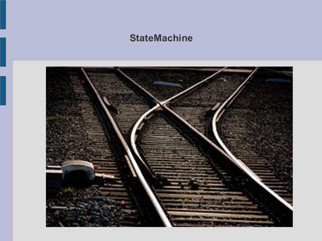 State machine Functionaliteit afspelen aan de hand van de gekozen state Enum UnitState { IDLE, DEFENSIVE, AGRESSIVE} private UnitState currentEnemyState = UnitState.IDLE; if(currentEnemyState == UnitState.IDLE){ //in idle state MoveAtRandom(); }else if(currentEnemyState == UnitState.DEFENSIVE){ //in defensiveState ActivatedShieldBarrier(); }else if(currentEnemyState == UnitState.AGRESSIVE){ //aggressiveState RunTowardPlayer(); }