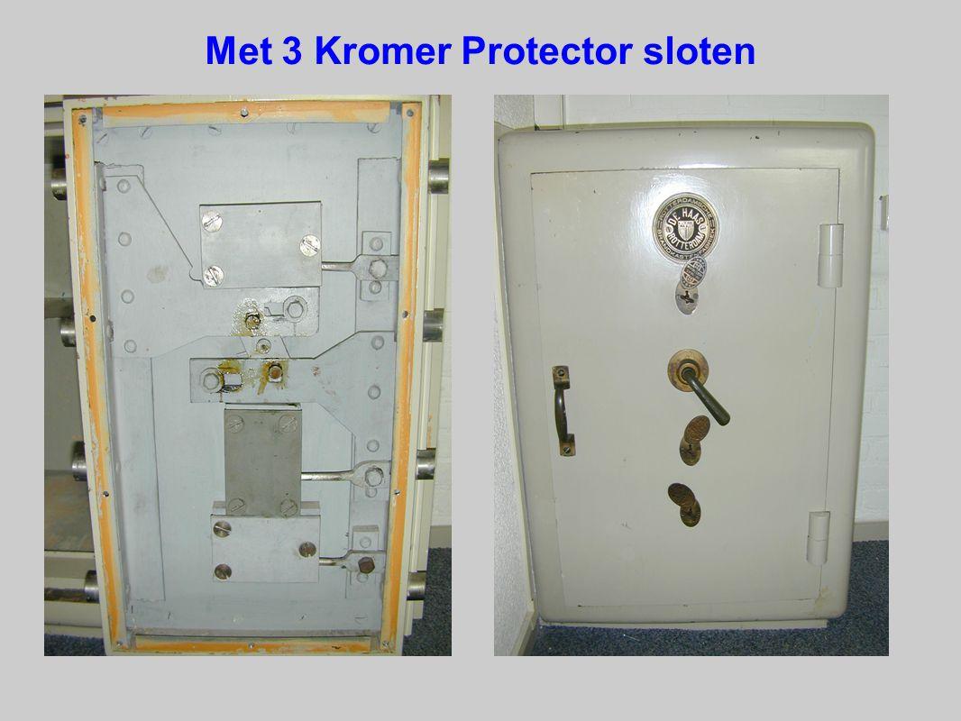 Met 3 Kromer Protector sloten