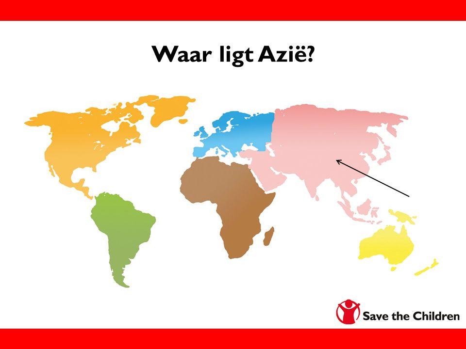 Waar ligt Azië?