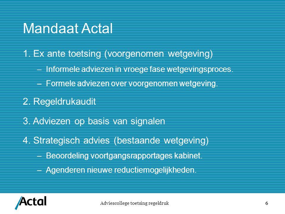 6 Mandaat Actal 1.