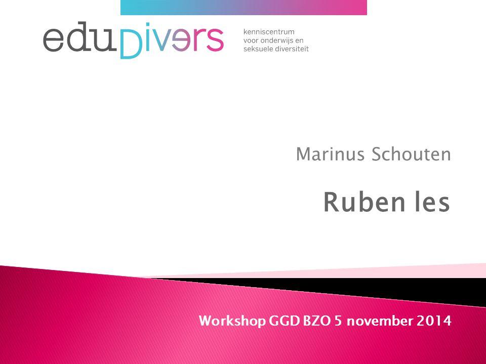 Marinus Schouten Ruben les Workshop GGD BZO 5 november 2014