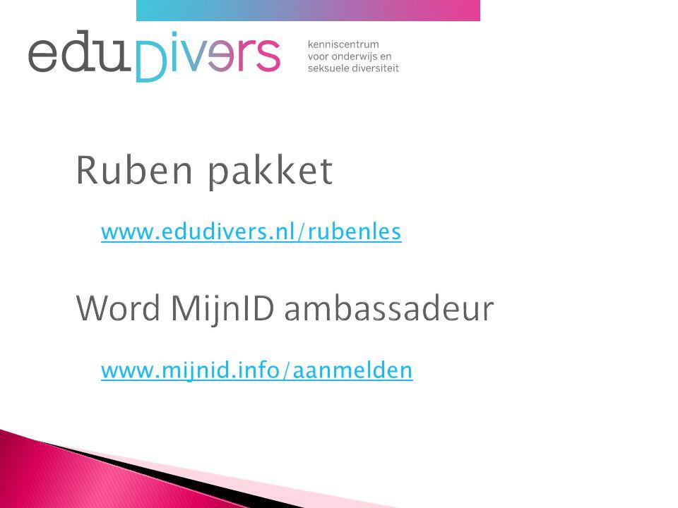 www.edudivers.nl/rubenles www.mijnid.info/aanmelden