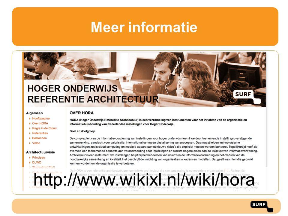 Meer informatie http://www.wikixl.nl/wiki/hora