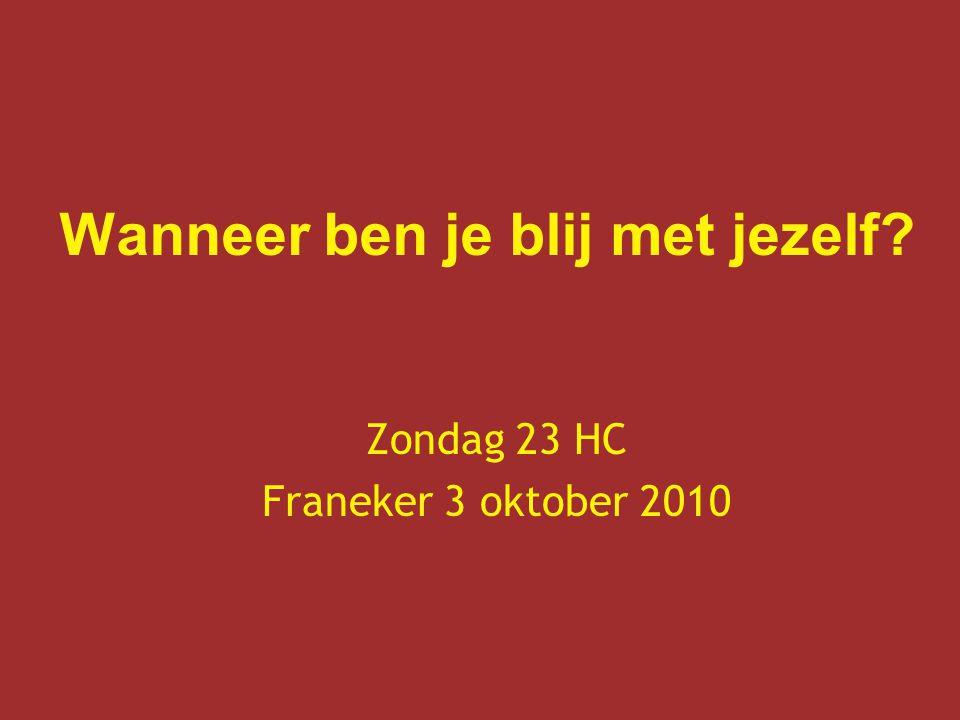 Zondag 23 HC Franeker 3 oktober 2010