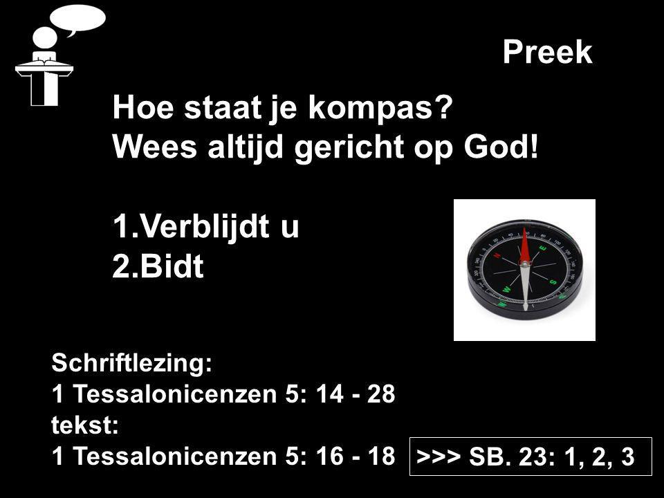 Preek >>> SB.