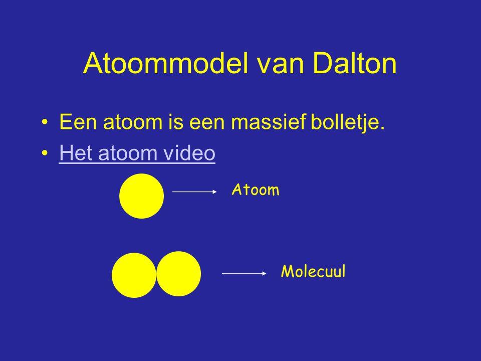 Isotopen Atomen van dezelfde soort maar met een ander massagetal Of: Hetzelfde aantal protonen maar een verschillend aantal neutronen Wat is het verschil tussen: massagetal 25 en massagetal 27?