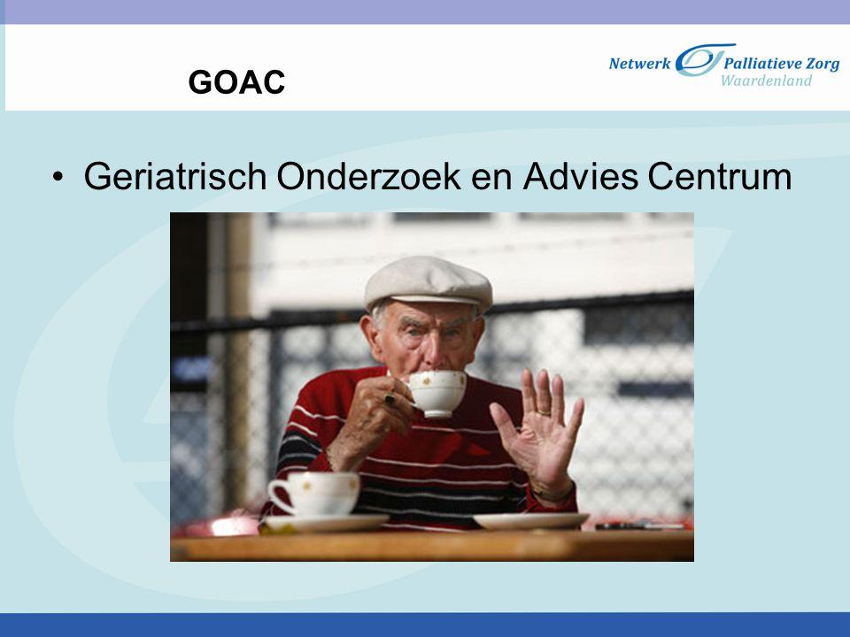 GOAC Geriatrisch Onderzoek en Advies Centrum