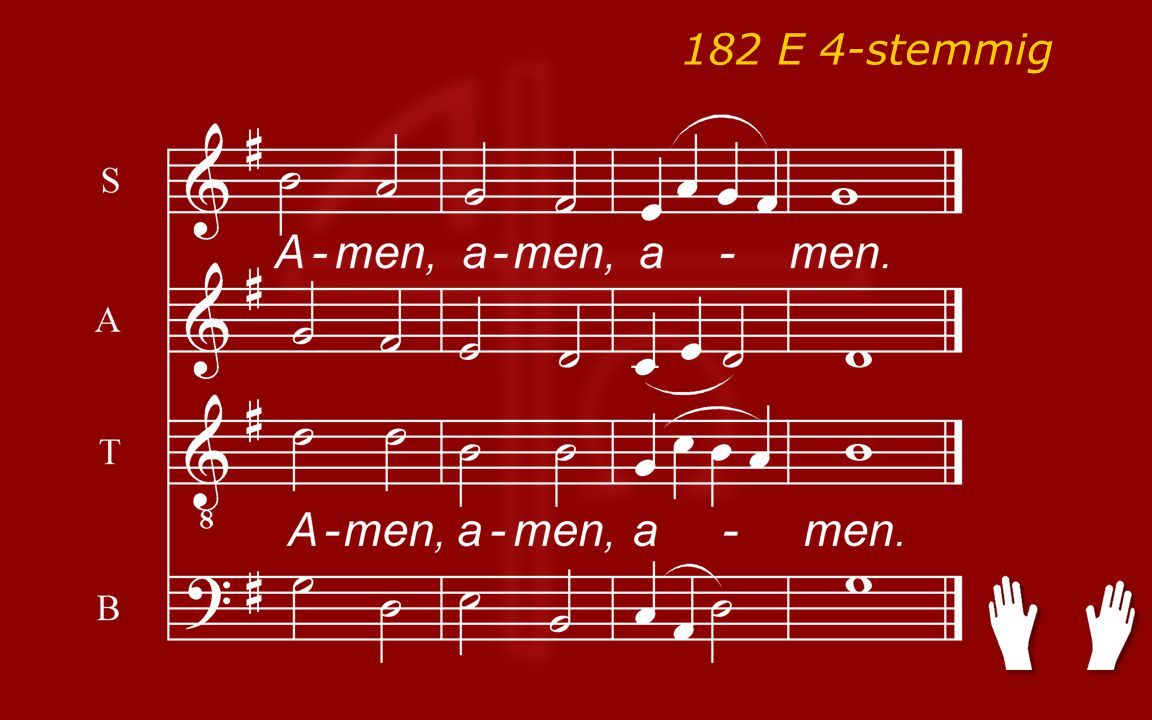 Psalm143:2, 3, 8 Koor: O gedaagden voor het sanhedrin Lucas23:26 - 49, tekst: 44 - 45 LvdK182:1, 2, 3 Gezang139:4 Gezang109:1, 4 Lied: 'liefde-offer' - n.a.v.