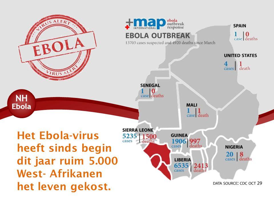  Het Ebola-virus heeft sinds begin dit jaar ruim 5.000 West- Afrikanen het leven gekost.