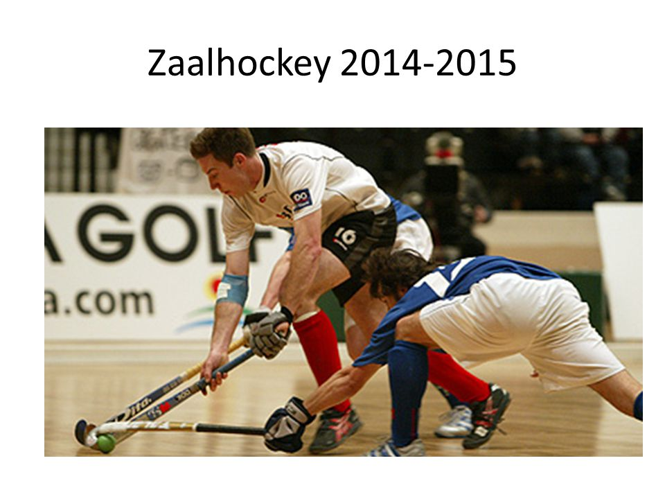 Zaalhockey 2014-2015