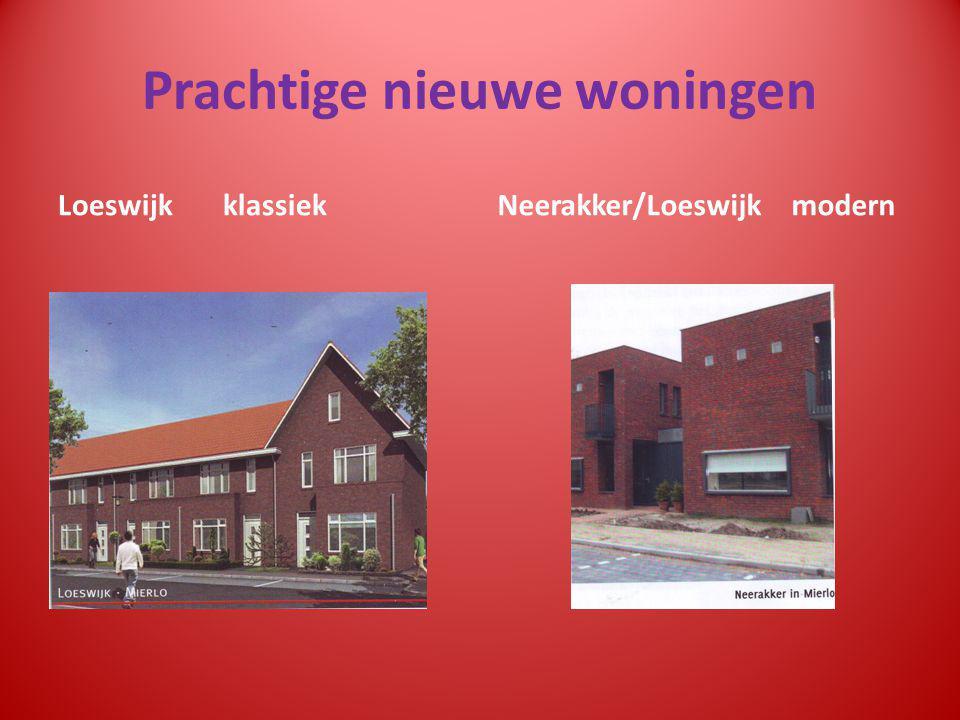 Prachtige nieuwe woningen Loeswijk klassiekNeerakker/Loeswijk modern