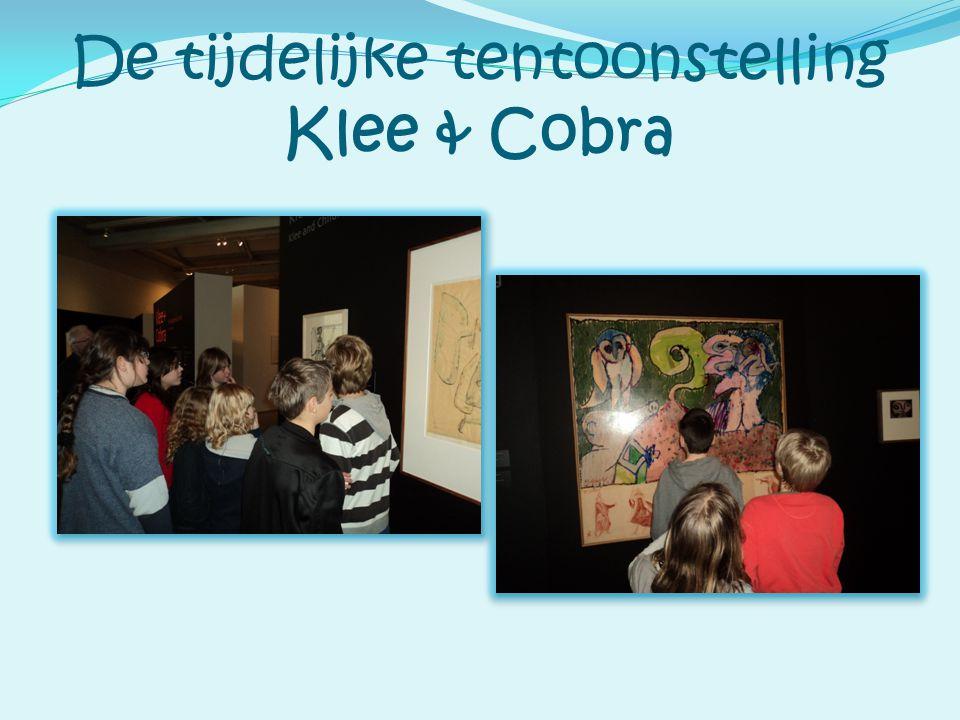 De tijdelijke tentoonstelling Klee & Cobra